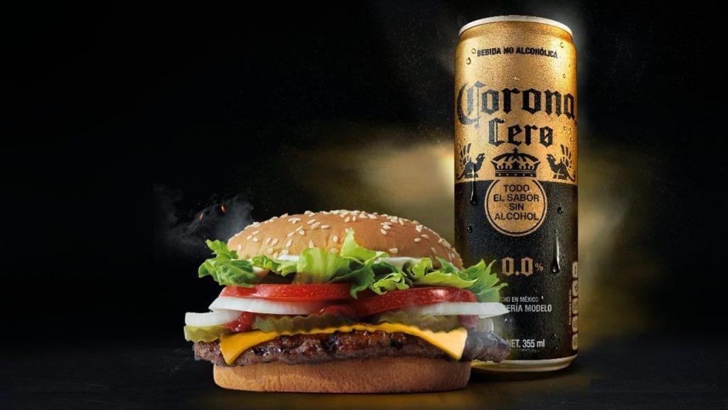 corona sin alcohol